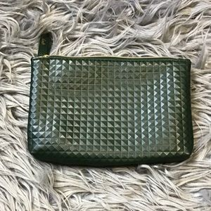 Ipsy Green Faux Leather Bag- Bundle and Save!!